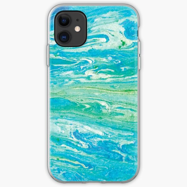 River ripples iPhone Soft Case