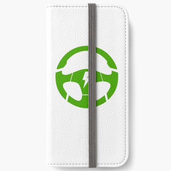 electric car steering wheel iPhone Wallet