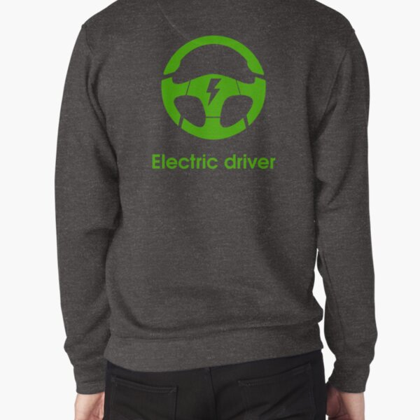 electric car steering wheel electric driver Pullover Sweatshirt