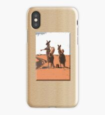 HITCHING AUSSIES iPhone Case/Skin