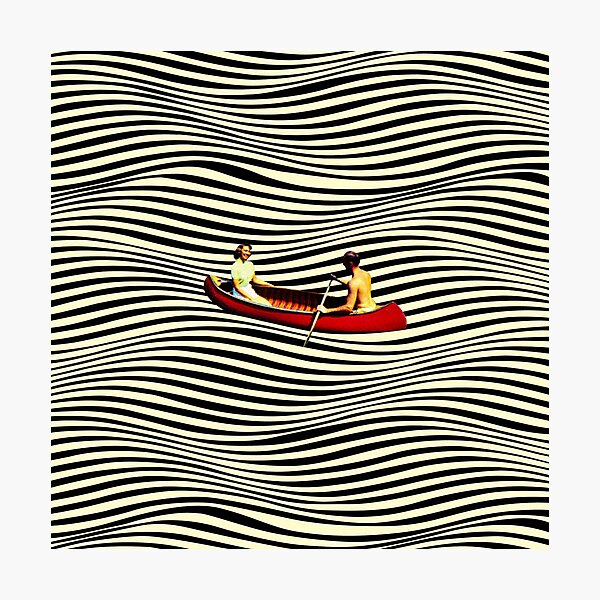 Illusionary Boat Ride Photographic Print