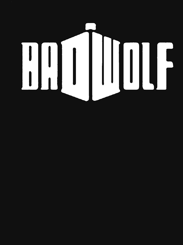 TShirtGifter presents: Doctor Who - Bad Wolf | Unisex T-Shirt