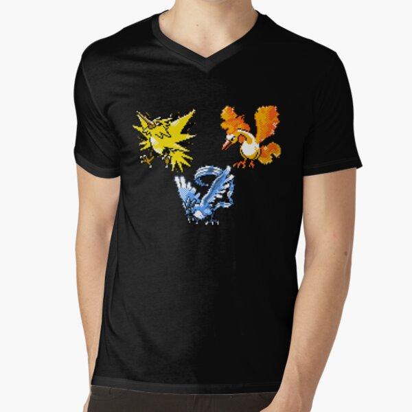 Legendary Bird Trio V-Neck T-Shirt