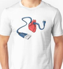 Connected Heart Unisex T-Shirt