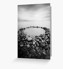 The Rock Pool Greeting Card