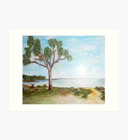Lake Hindmarsh Art Print