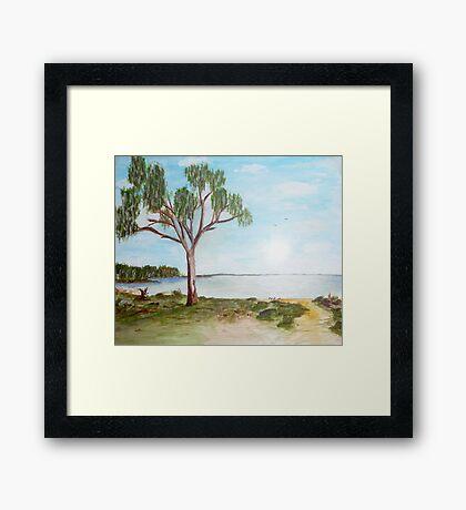 Lake Hindmarsh Framed Print