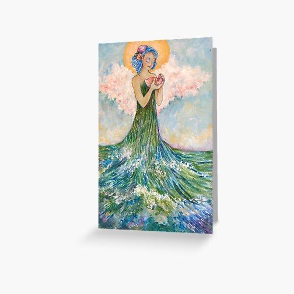 Sea Angel Greeting Card