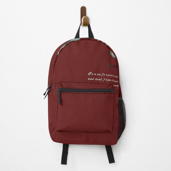 Meditation is way of Life Backpack