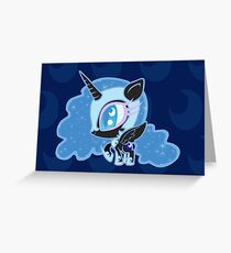Weeny My Little Pony- Nightmare Moon Greeting Card