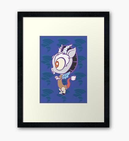 Weeny My Little Pony- Discord Framed Print