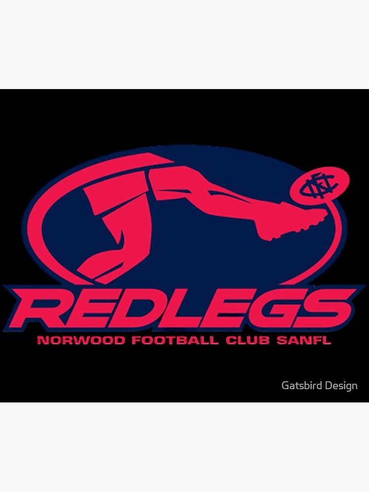 Norwood football club | AFL SANFL Redlegs footy by euror-design