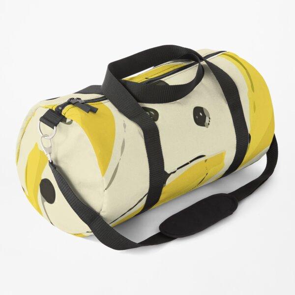 Stylish Pattern Fresh Yellow Duffle Bag