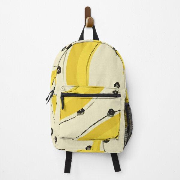 Stylish Pattern Fresh Yellow Backpack