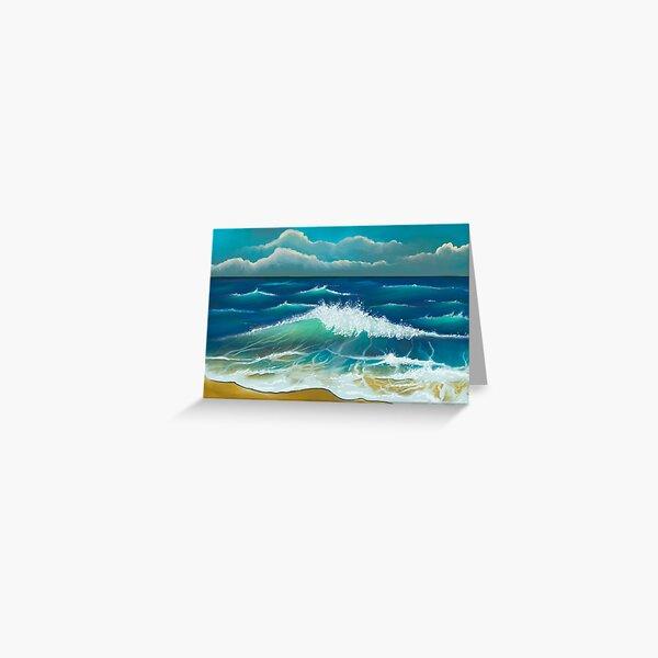 Seascape - Digital Art Greeting Card