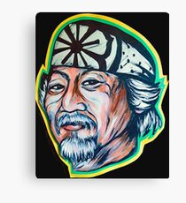 Mr. Miyagi  Canvas Print