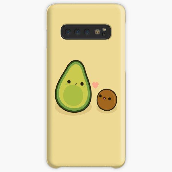 Cute avocado and stone Samsung Galaxy Snap Case