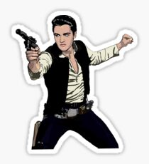 Han Elvis Solo Sticker