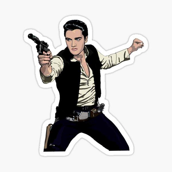 Han Elvis Solo Sticker