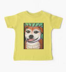 Gracie the Staffy T-shirt Baby Tee