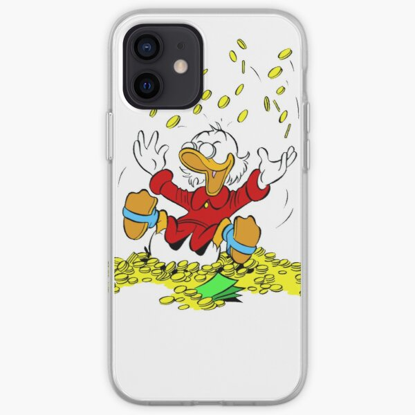 Uncle Scrooge Happy Shower iPhone Soft Case