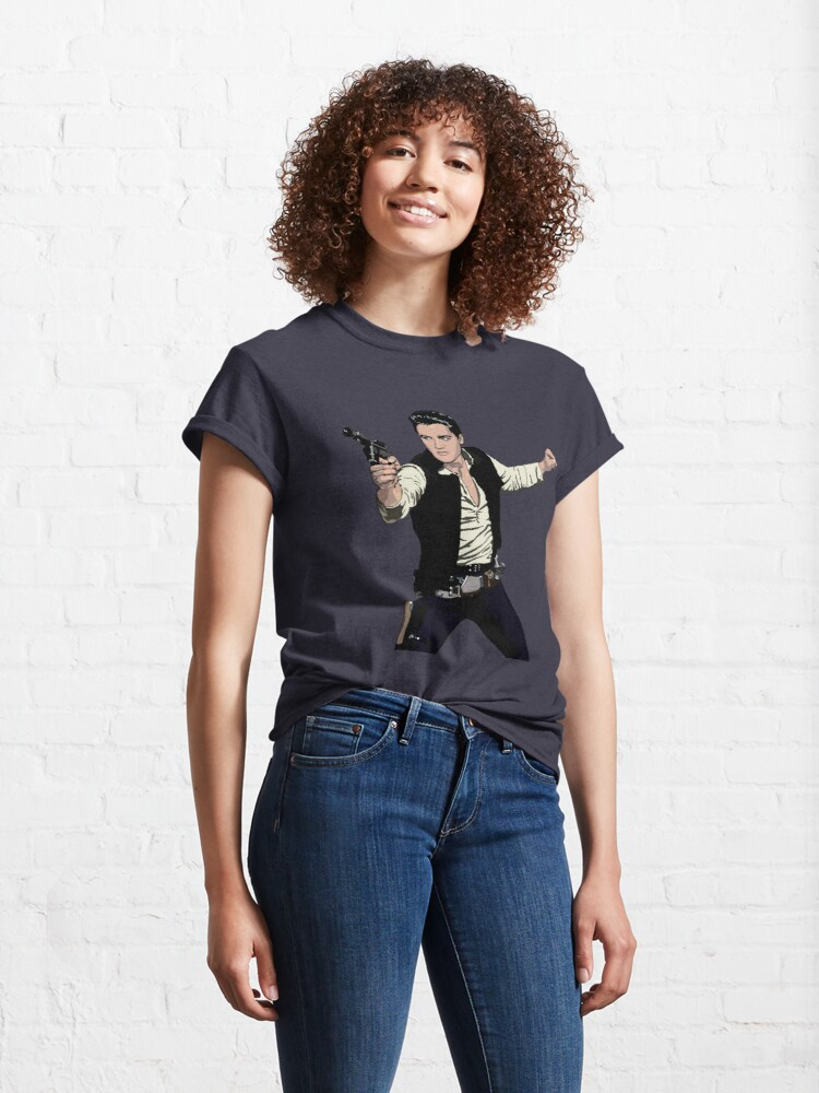 Alternate view of Han Elvis Solo Classic T-Shirt