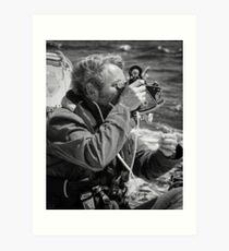 Navigating Art Print
