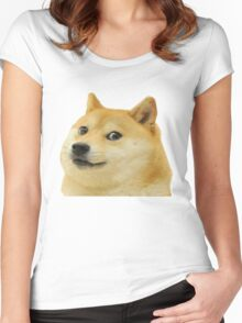 Doge Is Love, Doge is life Women's Fitted Scoop T-Shirt