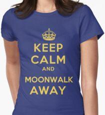 Keep Calm and Moonwalk Away T-Shirt