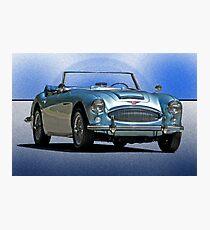 1964 Austin-Healey 3000 Photographic Print