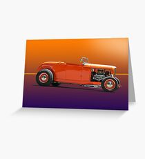 1932 Ford Classic Hot Rod Roadster Greeting Card