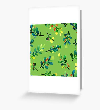 - Branch pattern - Greeting Card
