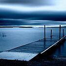 Blue Dawn - Leech Lake, MN by Michael Treloar