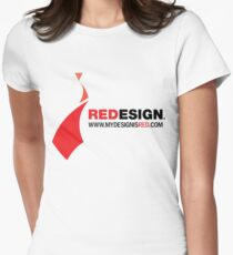 REDesign Web tee Womens Fitted T-Shirt