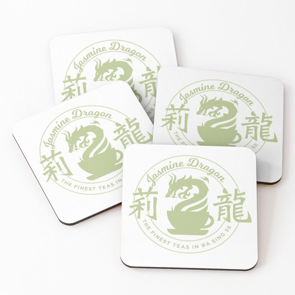 Jasmine Dragon Ba Sing Se Sticker Coasters (Set of 4)