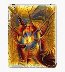 GOLDEN DANCING DRAGON iPad Case/Skin