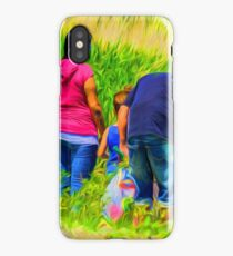 Net fishing iPhone Case/Skin