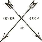 Never grow up by TinaGarcia