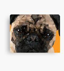Puggy Pug Canvas Print