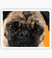 Puggy Pug Sticker