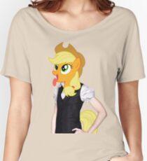 Applejack woman Women's Relaxed Fit T-Shirt