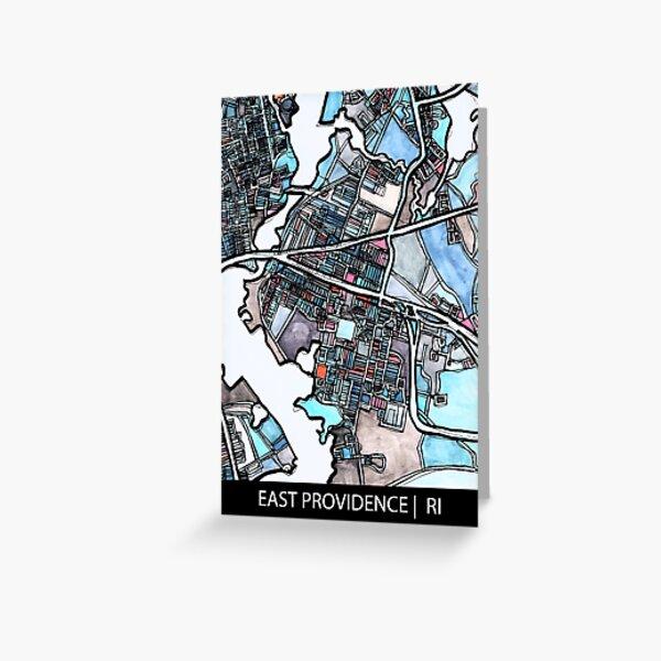 East Providence, RI Greeting Card