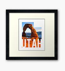 Utah - Arches Framed Print