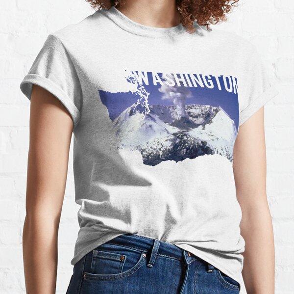 Washington - Mount St. Helens Classic T-Shirt