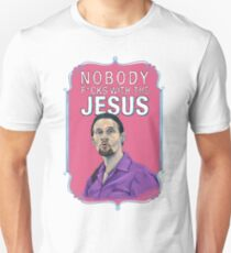 BIG LEBOWSKI-Jesus Quintana- Nobody F*cks with the Jesus T-Shirt
