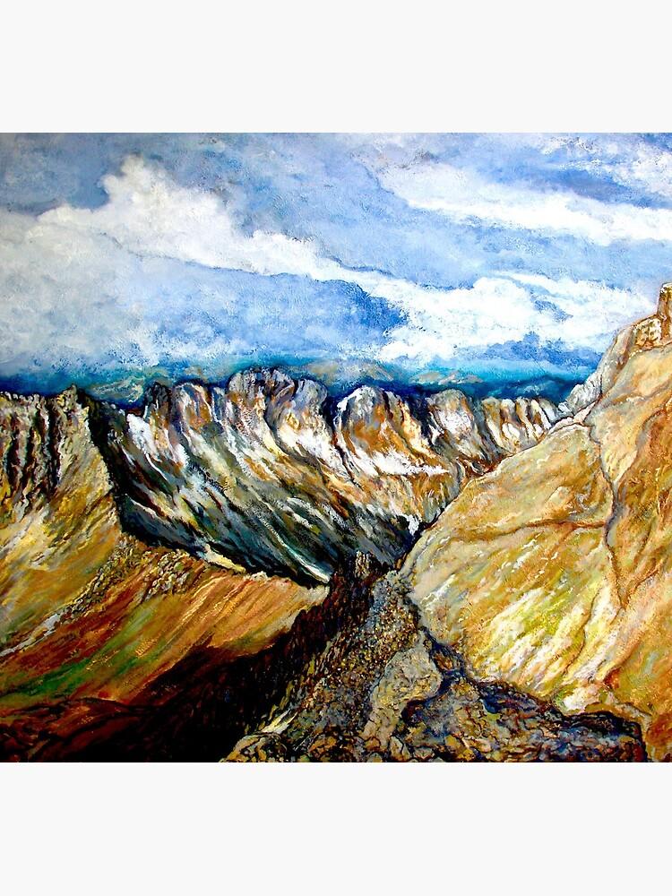 Mount Sneffels by donnaroderick