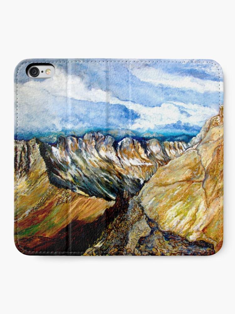 Alternate view of Mount Sneffels iPhone Wallet
