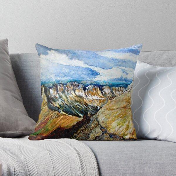 Mount Sneffels Throw Pillow