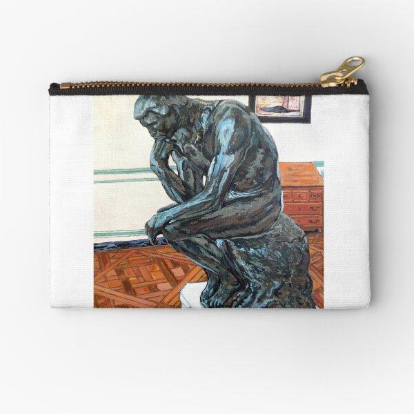 Le Penseur The Thinker Zipper Pouch