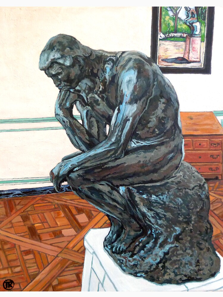 Le Penseur The Thinker by donnaroderick
